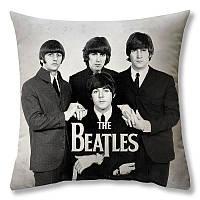 Подушка The Beatles 40 × 40 см принт (podushka-0016)