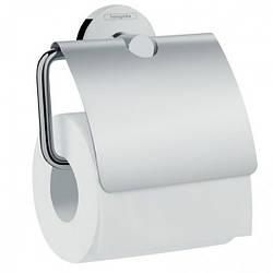 LOGIS держатель туалетной бумаги, с крышкой, хром