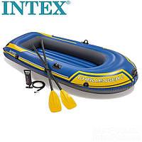 Двомісний човен надувний Intex Challenger 200