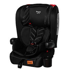 Детское автокресло + бустер TILLY Pegas T-533 Black (группа 1/2/3, 9-36 кг) Черный