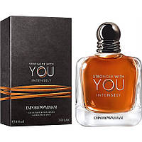 Мужская парфюмированная вода Emporio Armani Stronger With You Intensely 100 мл