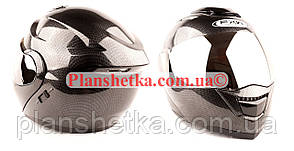 Шлем FXW 119 CARBON черный трансформер зеркальный визор