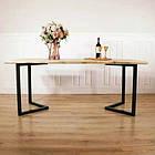 Дерев'яний столик N45 в стилі loft для домашнього офісу, фото 2