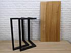 Дерев'яний столик N45 в стилі loft для домашнього офісу, фото 7