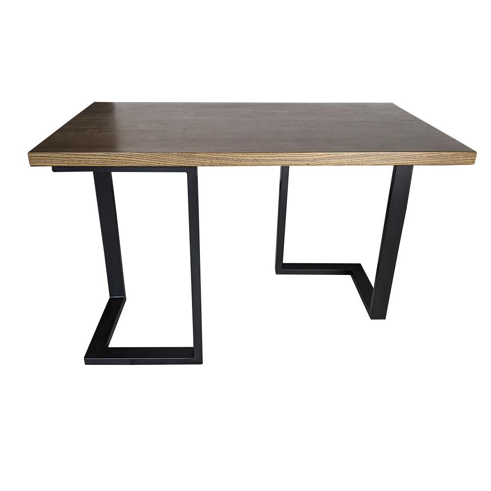 Дерев'яний столик N45 в стилі loft для домашнього офісу