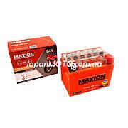 Аккумулятор 4A 12V Honda/Yamaha (YTX4L-BS) MAXION гелевый 112x67x85