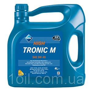 Масло моторное ARAL High Tronic M 5w40 4L