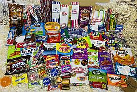 Мега-набор сладостей из США и Японии Sweet Box