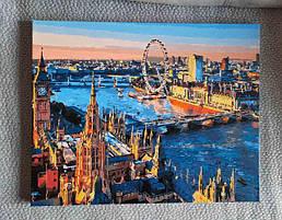 Картина за номерами Вид на Темзу.јрд