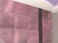 Декоративные стеновые панели из ткани, кожи экокожи купить на заказ в Украине