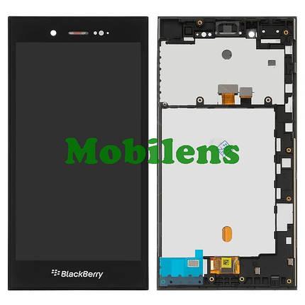 BlackBerry Z3 Дисплей+тачскрин(модуль) черный *в рамке, фото 2