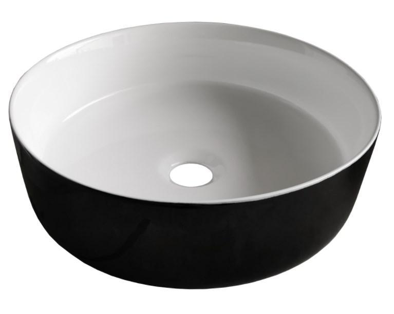 Раковини Volle Раковина Volle 36 см (13-40-333B&W) чорно/білий