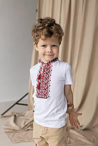 """Детская футболка с вышивкой """"Демьян"""""""