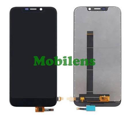 Doogee X70 Дисплей+тачскрин(модуль) черный, фото 2