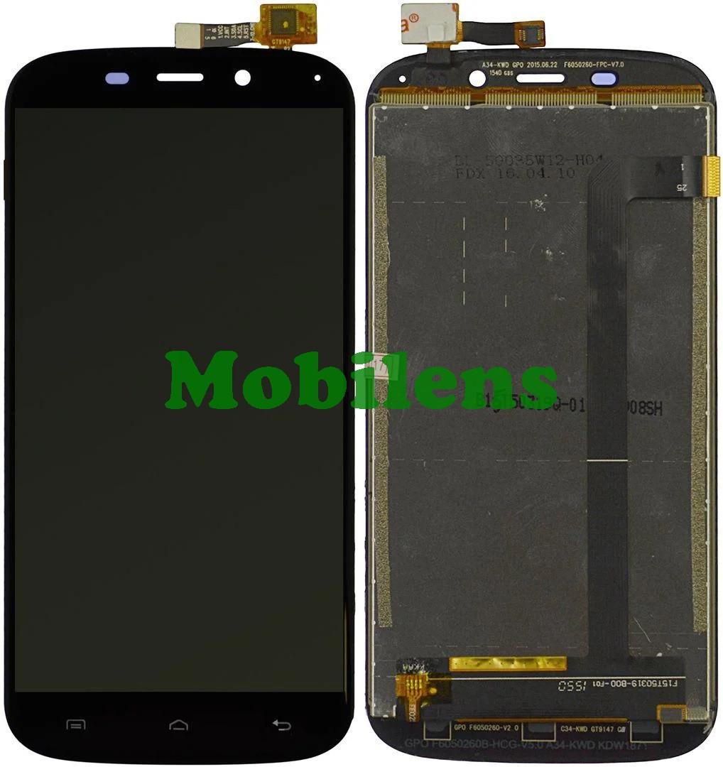 Doogee Y100X, F15T50319 Дисплей+тачскрин(модуль) черный