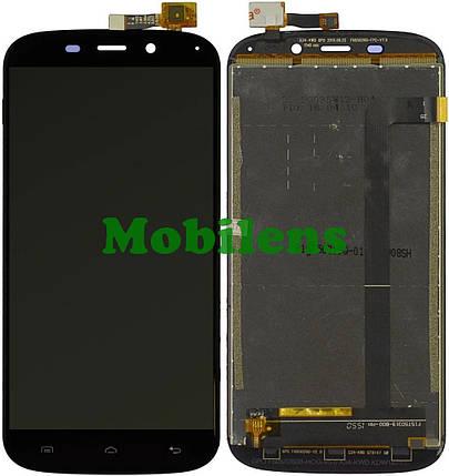 Doogee Y100X, F15T50319 Дисплей+тачскрин(модуль) черный, фото 2