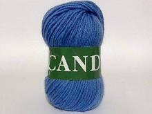 Пряжа шерстяная Vita Candy, Color No.2548 насыщенный голубой