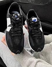 Женские кроссовки New Balance 327 Black MS327CPG, фото 2