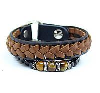 Набор браслетов из натуральной кожи S5, фото 1