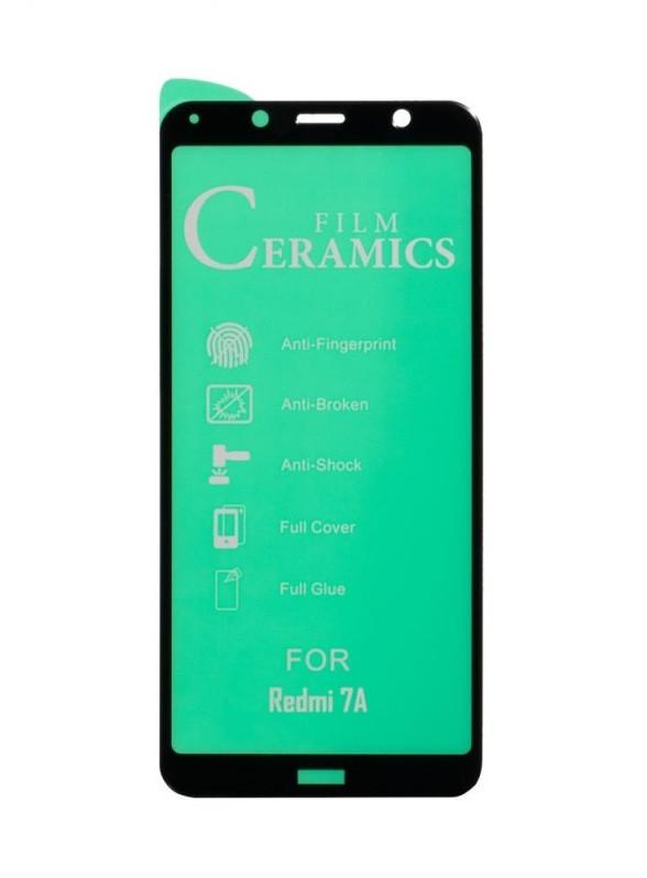 Захисне скло гнучке Film Ceramic для XIAOMI Redmi 7a чорний