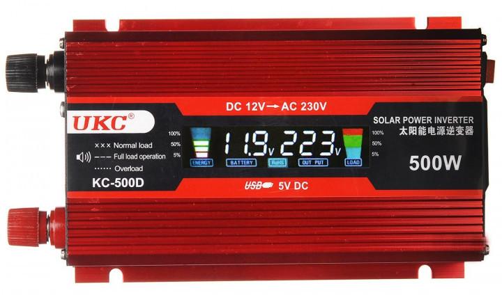 Перетворювач AC/DC KC-500D 500W + lcd