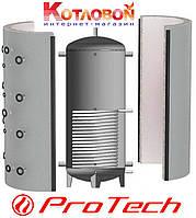 Буферная емкость ProTech (Протеч, Протек, Протех) 500 л. с теплообменником,  без изоляцией