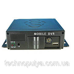 Автомобильный видеорегистратор на 4 камеры Brandoo MDVR (100581)