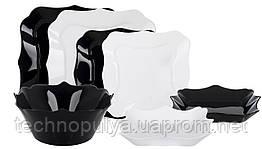 Сервиз столовый LUMINARC AUTHENTIC BLACK&WHITE, 19 предметов (6059432)