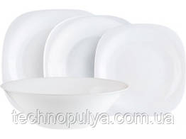 Сервиз столовый LUMINARC CARINE WHITE, 19 предметов (6337811)