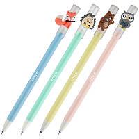 Ручка гелевая  пиши-стирай Kite Лесные зверята K20-352 синяя