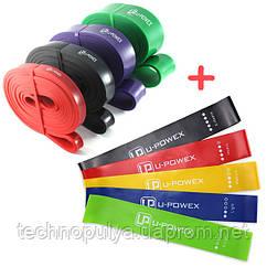 Гумки для фітнесу U-POWEX + Петлі U-POWEX (tdx0001136)