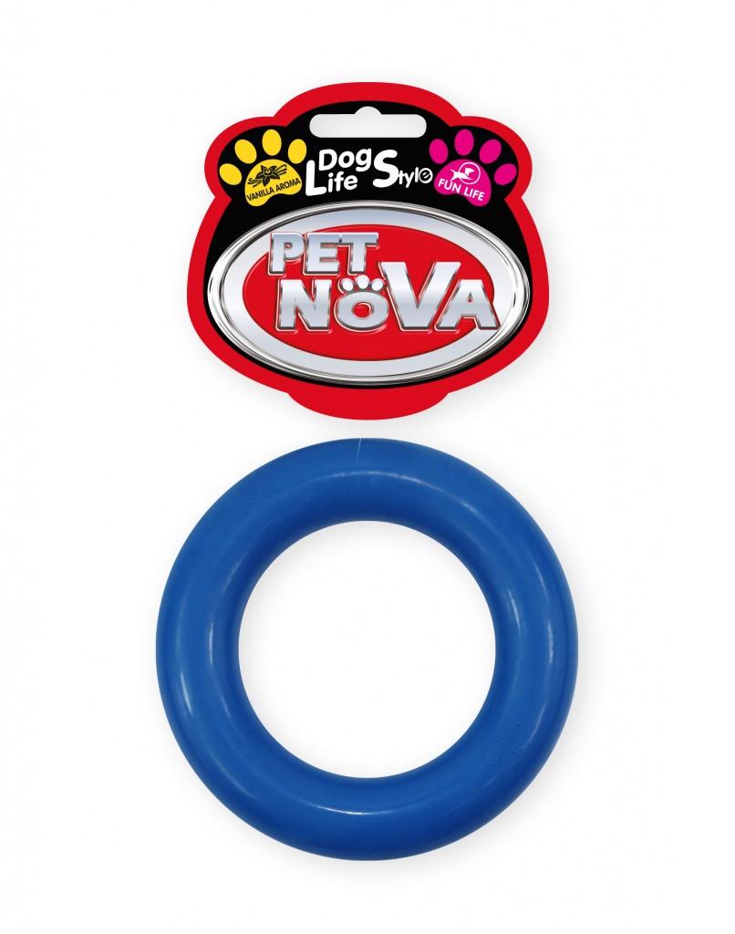 Іграшка для собак Кільце каучукове Pet Nova 9см