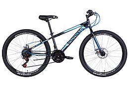 "Велосипед 26"" Discovery ATTACK DD 2021 (черно-синий)"