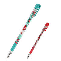 Ручка гелевая  пиши-стирай Kite Hello Kitty HK19-068 синяя