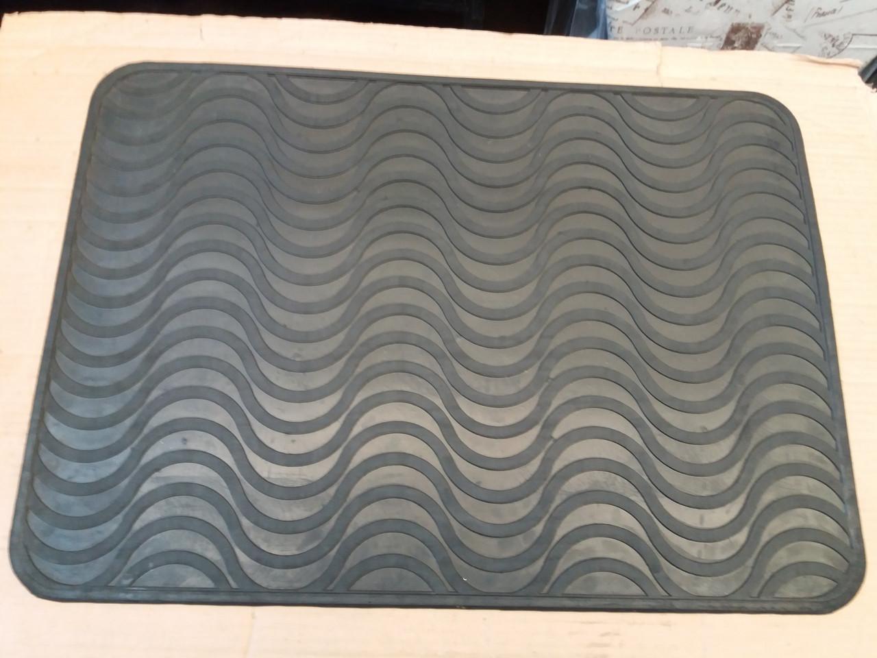 Коврик резиновый Волна 48*67 см