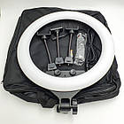 Кольцевой свет Ring Light лампа светодиодная с тремя гибкими держателями для телефона пультом ДУ и сумкой от, фото 8