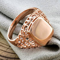 Печатка мужская Xuping. Золото розовое (покрытие) 585 пробы. 22 размер