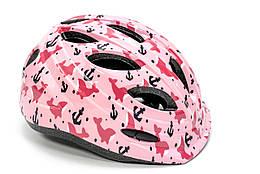 Шлем велосипедный FSK KY501 коралловый