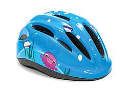 Шлем велосипедный FSK KS502 голубой (голубой)