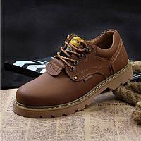 Мужские ботинки из натуральной кожи модель 0490