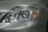 Toyota Corolla - установка биксеноновых линз Moonlight SUPER G5 2,5 в фары , фото 1
