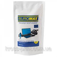Салфетки Buromax Refill TFT/PDA/LCD 100шт ВМ 0800-01 26шт/уп