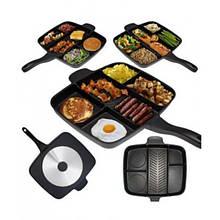 Сковорода універсальна YBB MAGIC PAN з покриттям Тефаль 5в1 - Сковорідки, сотейники, жаровні