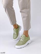 Туфлі жіночі зелені 11768 (ЯМ), фото 3