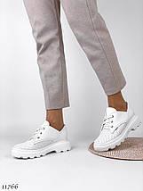 Модні білі туфлі 11766 (ЯМ), фото 2