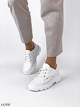 Модні білі туфлі 11766 (ЯМ), фото 3