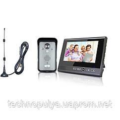 Бездротовий відеодомофон з датчиком руху Kivos KDB702 (100445)