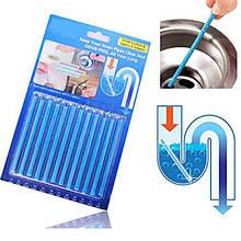 Палочки от засоров SANI STICKS 12 шт - Моющие и чистящие средства