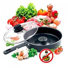 Сковорода з Антипригарним покриттям Dry Cooker Tigaia Magica 26 см - Сковорідки, сотейники, жаровні