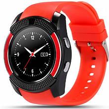 Смарт-годинник Smart Watch V8 Red - Розумні годинник і фітнес браслети